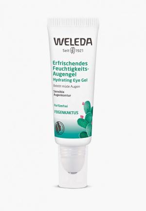 Гель для кожи вокруг глаз Weleda. Цвет: прозрачный