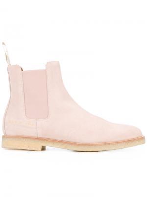 Ботинки челси Common Projects. Цвет: розовый и фиолетовый