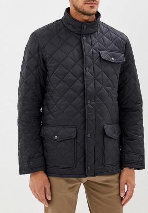 Куртка утепленная Dockers. Цвет: черный