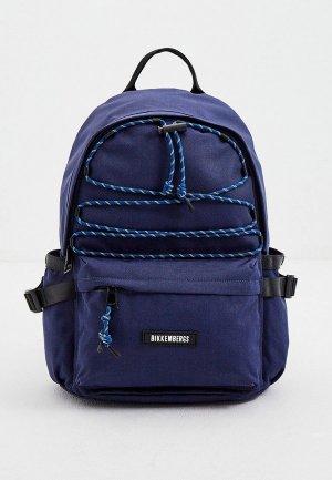 Рюкзак Bikkembergs. Цвет: синий