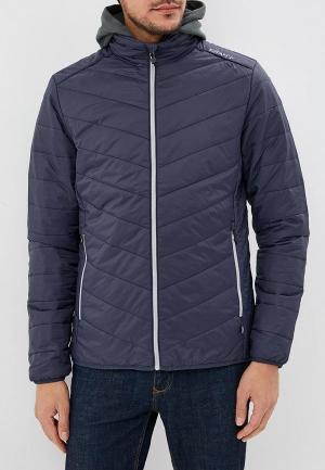 Куртка утепленная Craft. Цвет: синий