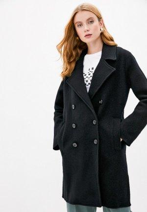 Пальто Emporio Armani. Цвет: черный