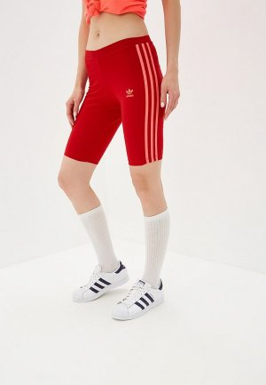 Шорты спортивные adidas Originals. Цвет: красный