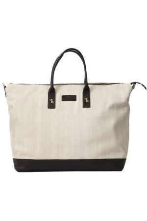 Bag BILLIONAIRE. Цвет: white