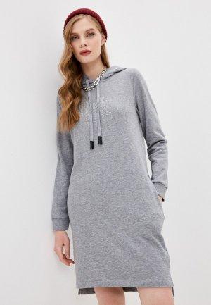 Платье DKNY. Цвет: серый