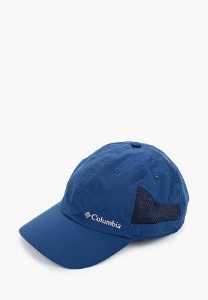 Бейсболка Columbia. Цвет: синий