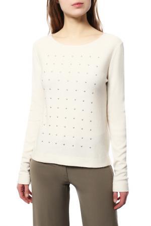 Пуловер LAUREL. Цвет: молочный