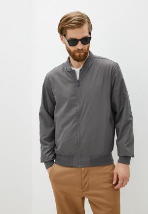 Куртка Brave Soul. Цвет: серый