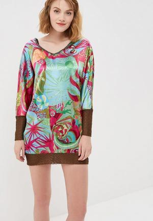 Блуза Custo Barcelona. Цвет: разноцветный