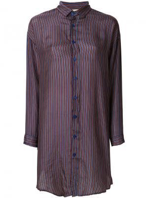 Рубашка в полоску Mes Demoiselles. Цвет: многоцветный