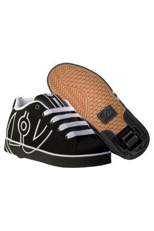 Роликовые кроссовки HEELYS. Цвет: черный