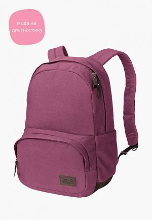 Рюкзак Jack Wolfskin. Цвет: фиолетовый