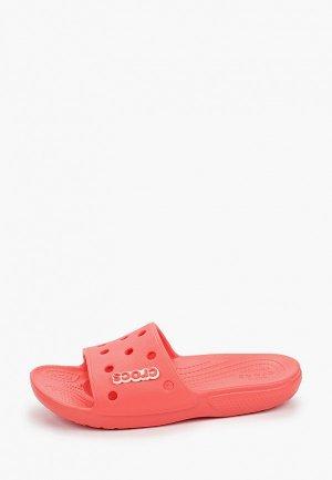 Сланцы Crocs. Цвет: коралловый