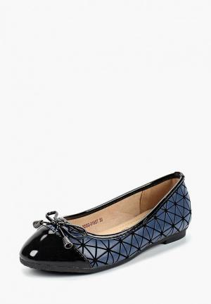 Балетки Zenden Collection. Цвет: синий