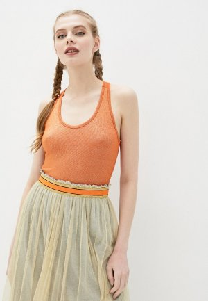 Майка Deha. Цвет: оранжевый