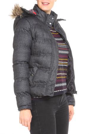 Куртка DRYWASH. Цвет: серый