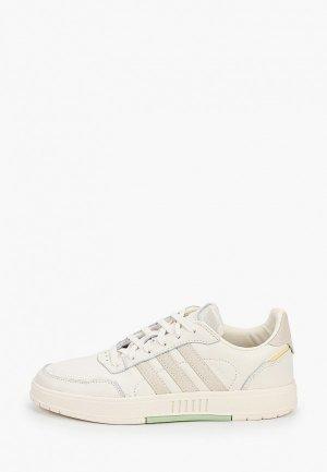 Кеды adidas Originals. Цвет: бежевый