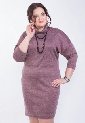 Платье Wisell. Цвет: розовый