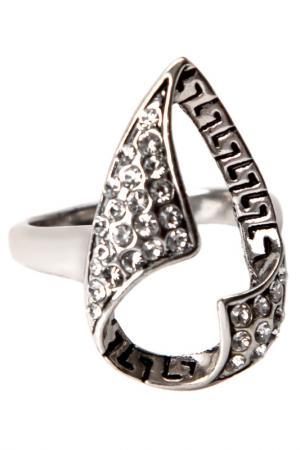 Кольцо Inesse M. Цвет: серый