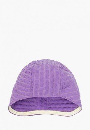 Шапочка для плавания MadWave. Цвет: фиолетовый