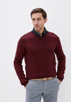 Пуловер Trussardi. Цвет: бордовый
