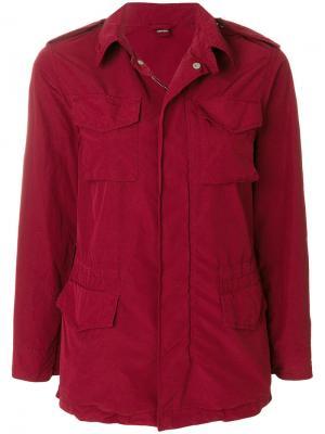 Куртка карго Aspesi. Цвет: красный