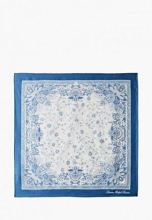 Платок Lauren Ralph. Цвет: голубой
