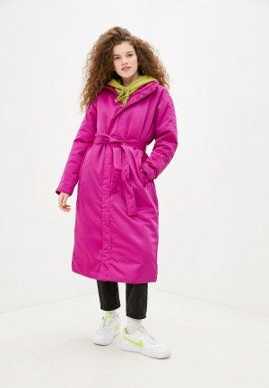 Куртка утепленная Nike. Цвет: фиолетовый