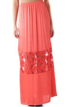 Skirt FORNARINA. Цвет: оранжевый