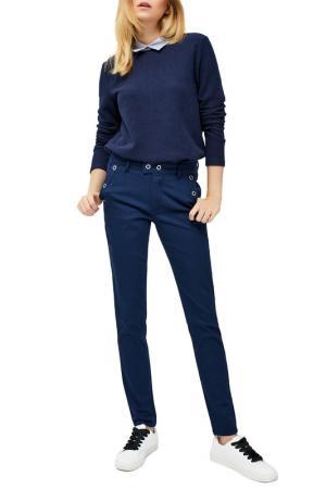 Trousers MOODO. Цвет: navy