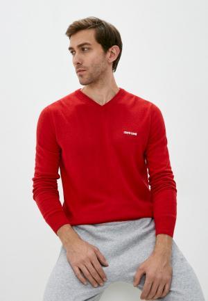 Пуловер Roberto Cavalli Sport. Цвет: красный