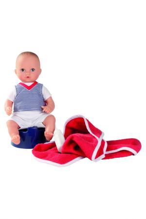 Кукла Аквини-мальчик Gotz. Цвет: красный