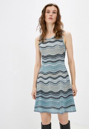 Платье Missoni. Цвет: бирюзовый