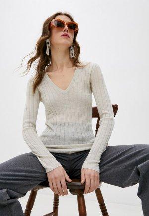 Пуловер Brunello Cucinelli. Цвет: бежевый
