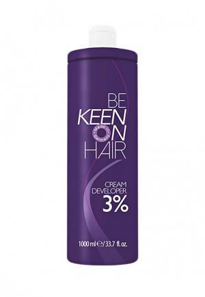 Крем для волос Keen. Цвет: белый
