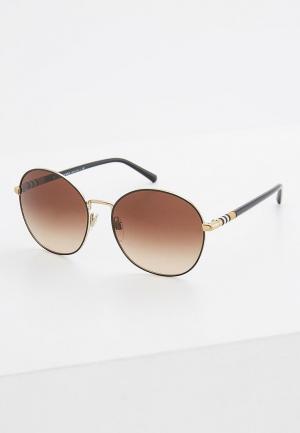 Очки солнцезащитные Burberry. Цвет: коричневый