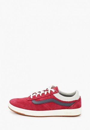 Кеды Vans. Цвет: бордовый