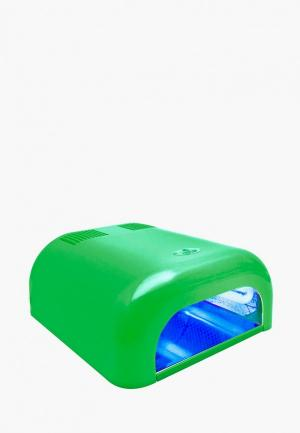 Лампа для маникюра Planet Nails. Цвет: зеленый