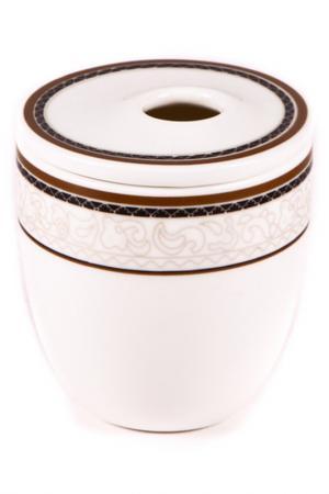 Баночка Royal Porcelain. Цвет: белый