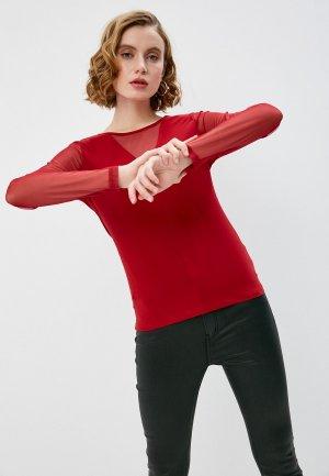 Лонгслив DKNY. Цвет: красный