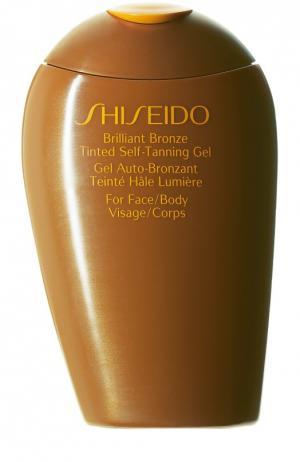 Гель-автозагар ускоренного действия для лица и тела Suncare Shiseido. Цвет: бесцветный