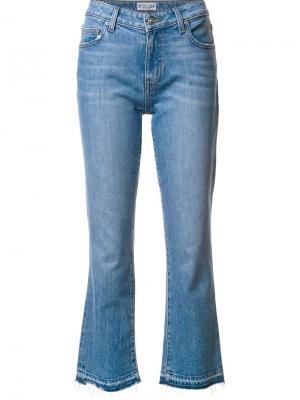 Укороченные расклешенные джинсы Derek Lam 10 Crosby. Цвет: синий
