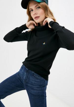 Водолазка Vivienne Westwood. Цвет: черный