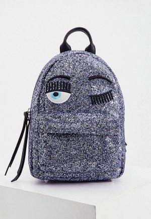 Рюкзак Chiara Ferragni Collection. Цвет: фиолетовый