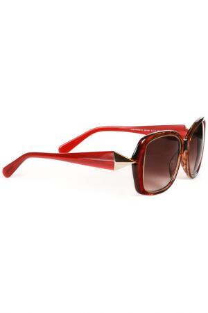 Очки солнцезащитные GIVENCHY. Цвет: мультицвет