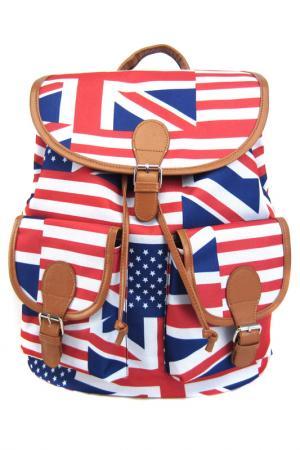 Рюкзак American Flag CREATIVE. Цвет: красный