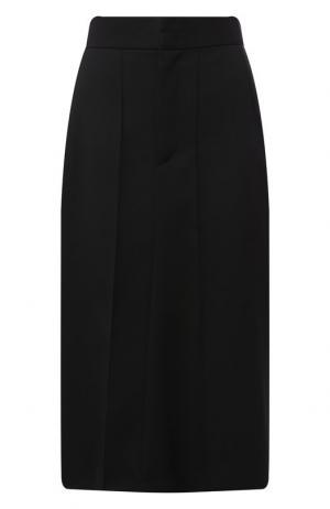 Шерстяная юбка-миди Isabel Marant. Цвет: черный