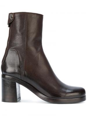 Высокие ботинки Alberto Fasciani. Цвет: коричневый