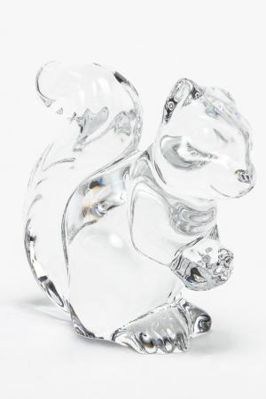 Фигурка Белка, 8,6 см CRYSTAL BOHEMIA. Цвет: прозрачный