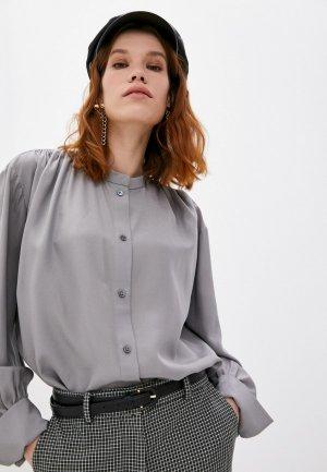 Блуза Joseph. Цвет: серый